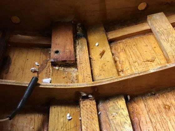 Alte Schönheit, Holzboot Regina