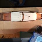 Motoryacht Albatros - ein 50jähriges Schiffsmodell