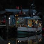 Abendstimmung am Fischereihafen