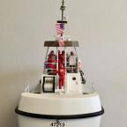 Heckansicht meines 47 Ft. U.S. Coast Guard Lifeboats