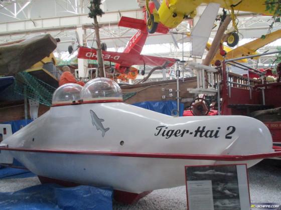 U-Boot Tiger Hai II im Technik Museum Speyer