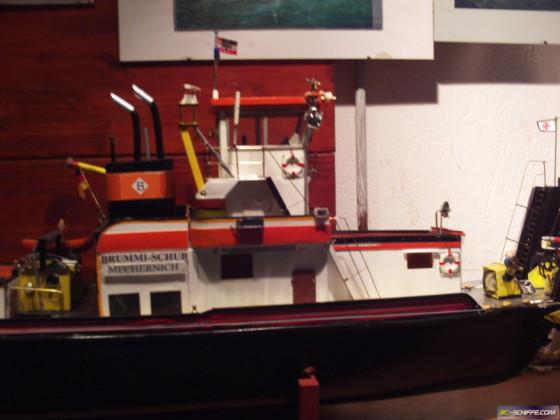 Vorschiff-Kamin-Schleppwinde