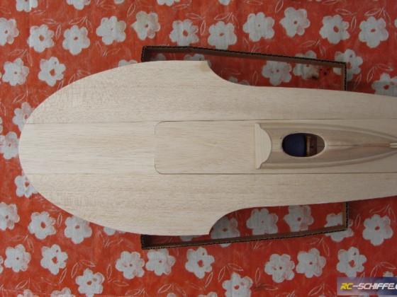 1/16 Hydroplane Notre Dame  -  Entwurf Modellständer