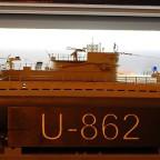 U-862 in der Vitrine