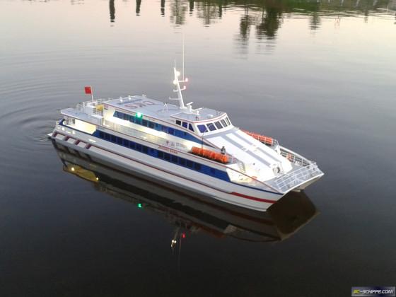 Catamaran- Fähre - Hong Kong