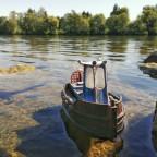 Dozer Boat aus dem 3d Drucker