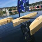 Erster schwimm Test