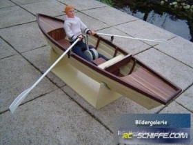 Ruderboot Tina
