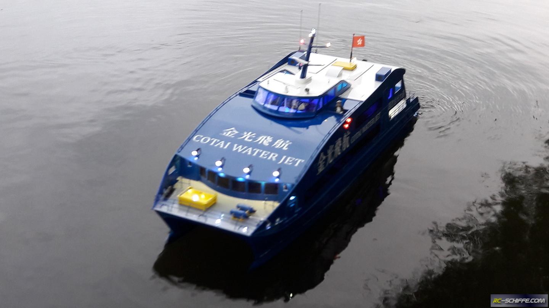 COTAI WATER JET - Fähre aus Hongkong