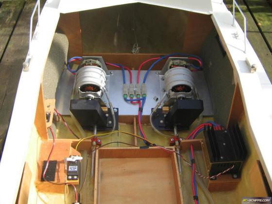 Riva Bravo Maschinenanlage