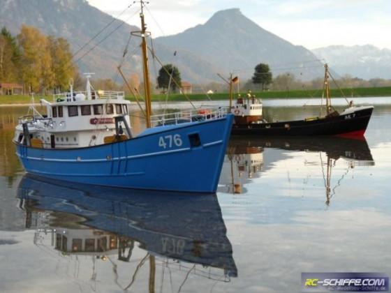Nordkap von Billing Boats und Wotan von Robbe