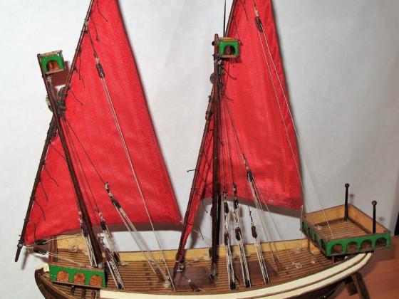 Venetianisches Handelsschiff 13. Jh. - Maßstab 1:80