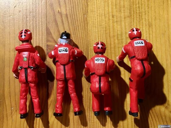 Die Mannschaft meines 47 Ft. U.S. Coast Guard Lifeboats ist fertig... :)