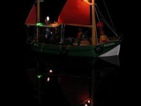 Playmobil-FK Susanne (alt) bei Nacht