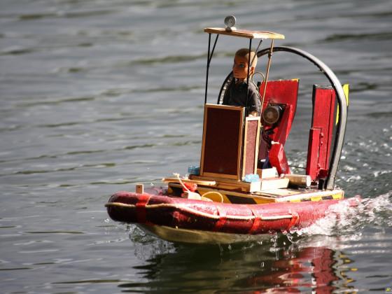 Schlauch-Airboat
