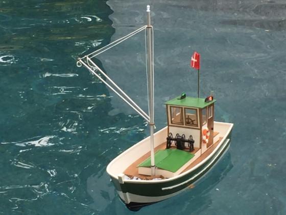 Skadi auf Fangfahrt - Aeronaut Möwe 2