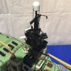 Details am neuen Mast