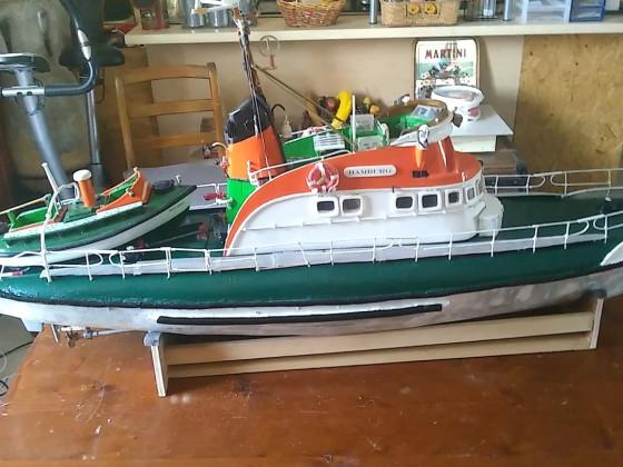 Hamburg Seenotkreuzer