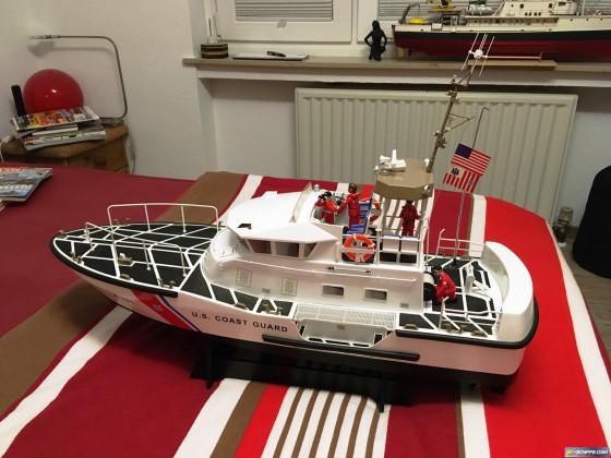 Mein 47Ft. Motor-Lifeboat von der U.S. Coast Guard im Maßstab 1:20, Hersteller Proboat / Horizon