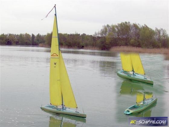 Pirol Groß-Segelboot