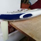 RC Segelboot 1m Klasse Eigenkonstruktion