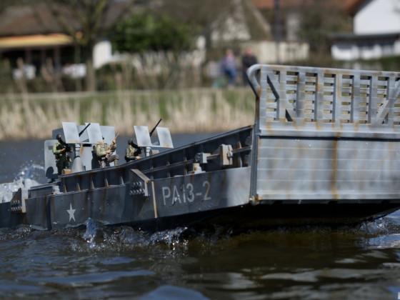 Lcm3 Landungs Boot aus dem 3D Drucker