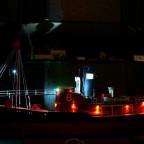 Nachts in der Werft