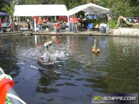 AMC-Paderborn - Fischerfest 2010 - Schaufahren in Bad Lippspringe an der Lippequelle