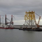 "Offshore Wind Substation und Jackup Unit ""MPI Enterprise"""