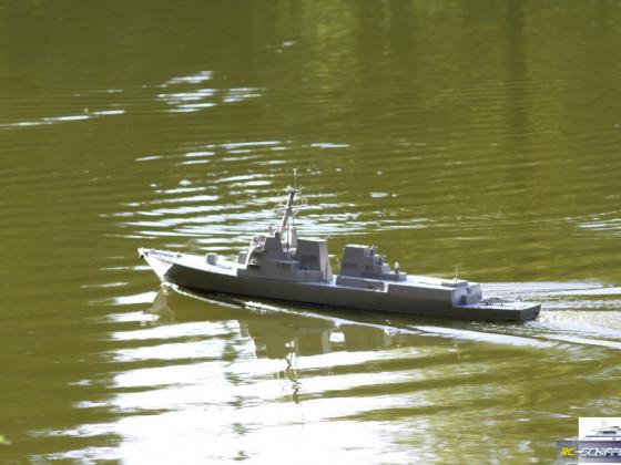 Testfahrt Arleigh Burke - Zerstörer USS Bainbridge