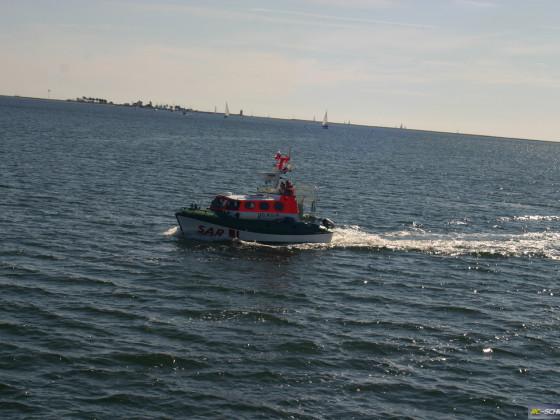 Schiffe der DGzRS auf der Ostsee