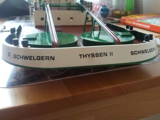 Heckansicht Thyssen II