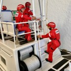 Kleiner Flirt an Bord meines 47 Ft. U.S. Coast Guard Lifeboats... :)