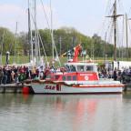 Taufe DGZRS 10,1 m Boot Peter Habig 17.5 Wilhelmshaven