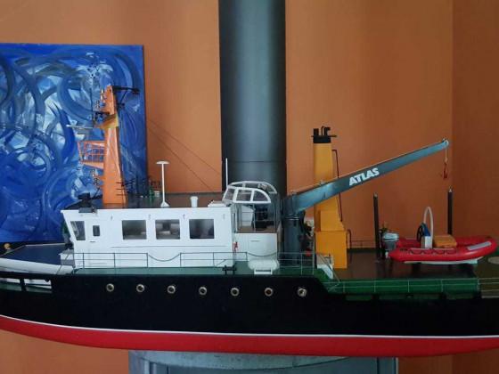 Oslo  ( hier noch mit Dekobeiboot , jetzt ist schon die Möwe drauf ! )