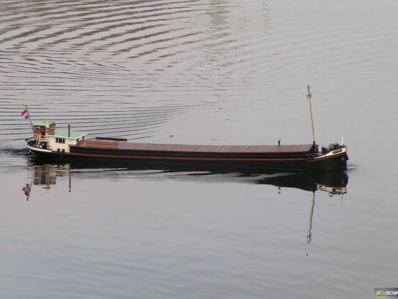 Kempenaar ANTOINETTE in Fahrt auf dem Weichelsee in Rotenburg (Wümme)