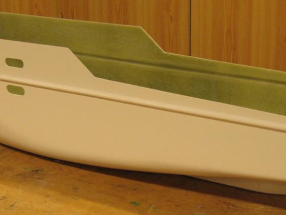 Megayacht Pegasus V - Gfk-Rumpf #16
