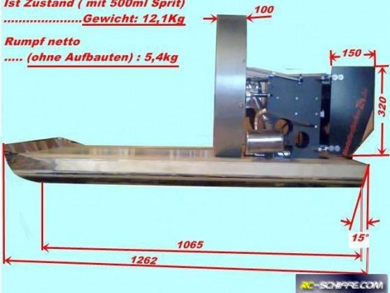 Airboat Eigenbau 1