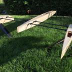 Foils und Ruder