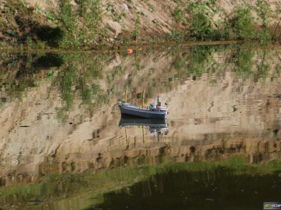 Auf unserem Baggersee