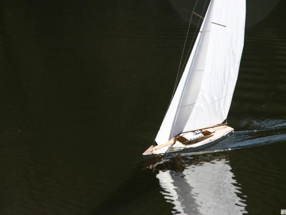 Meine alte 1m-Yacht