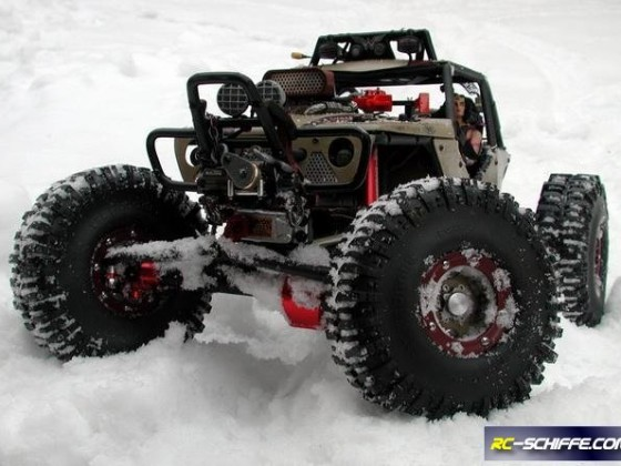 Wonder Wraith im Schnee