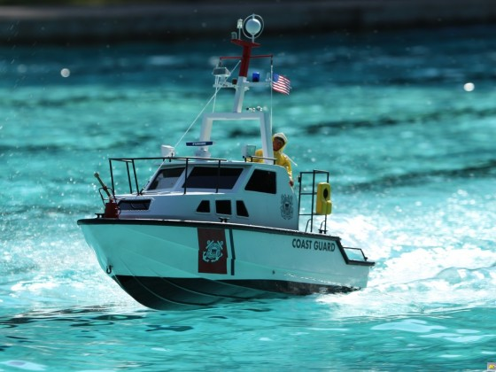 MHZ Boddenboot. Coast Guard 1:6.