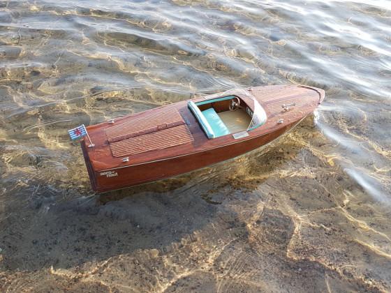 Die CLASSIC auf dem Borenssee in Schweden
