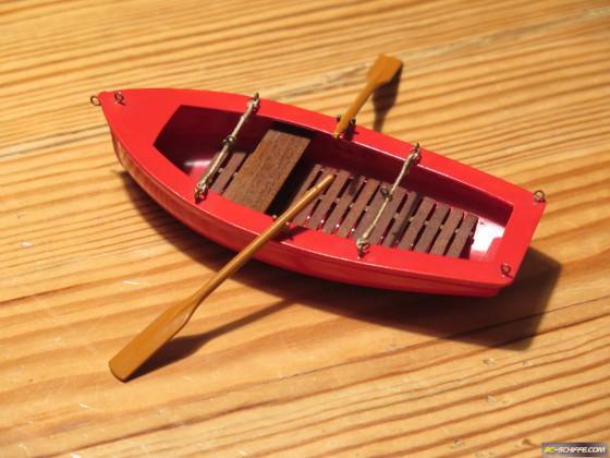 Yacht-Beiboot 1:25
