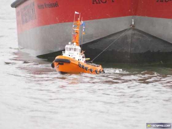 Hafenschlepper Wombat in Aktion - Finale Ausbaustufe
