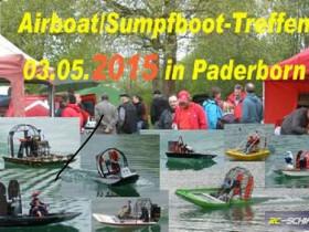 Sumpfboot-Treffen 2015 in Paderborn am Nesthauser See.