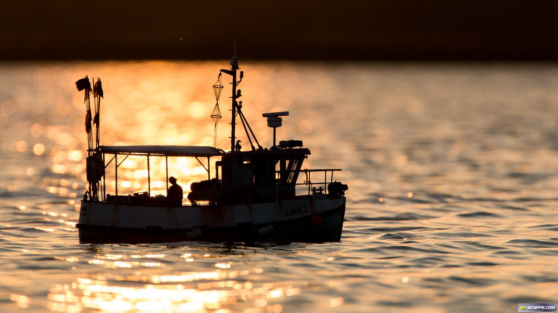 Abendliche Fangfahrt