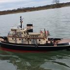 Hamburg II auf Erstfahrt nach Werftaufenthalt