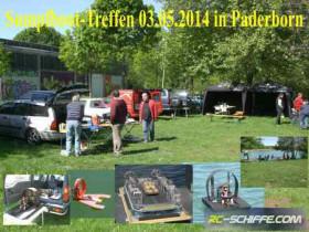 Sumpfboot-Treffen 03.05.2014 in Paderborn am Nesthauser See.